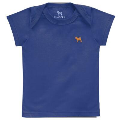 Imagem 1 do produto Camiseta Raglan para bebe em malha Ocean - Charpey