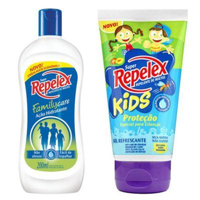 Imagem 1 do produto Repelente Repelex Kids 133ml + Repelente Repelex Loção 200ml