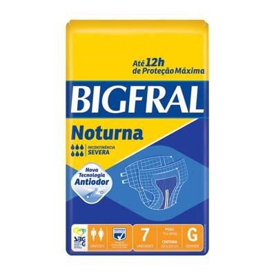 Imagem 1 do produto Fralda Geriátrica Bigfral Noturna Grande 7 Unidades