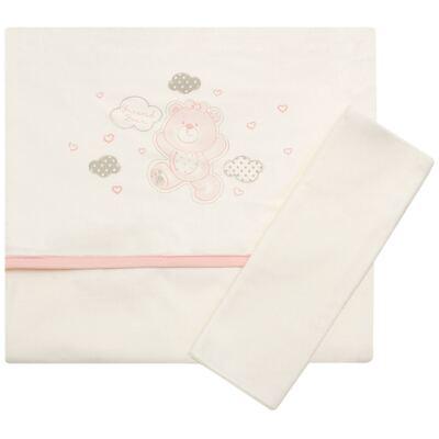 Jogo de lençol para berço em malha Ursinha - Classic for Baby - JLM557 JOGO DE LENCOL MALHA URSA