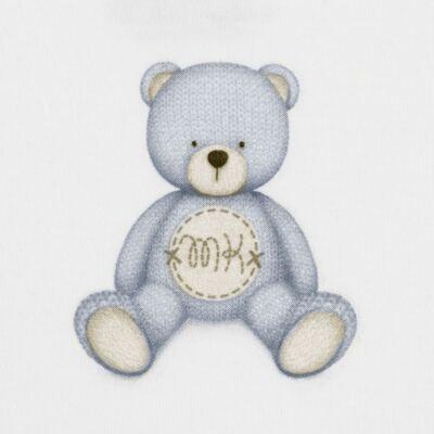 Imagem 2 do produto Body curto para bebe em Pima Cotton Supreme Prime Bear Branco - Mini & Kids - BDMC0001.64 BODY MANGA CURTA - SUEDINE-RN