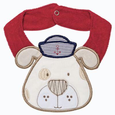 Imagem 1 do produto Babador para bebe atoalhado faces Sailor Dog - Classic for Baby