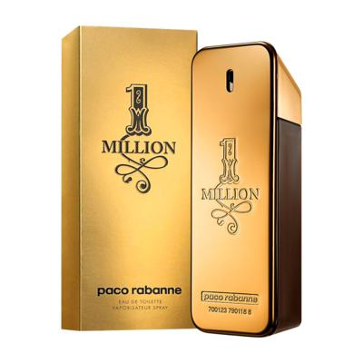 1 Million De Paco Rabanne Eau De Toilette Masculino - 200 ml