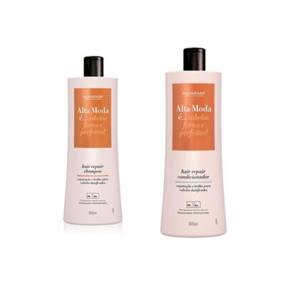 Shampoo + Condicionador Alta Moda Hair Repair 300ml