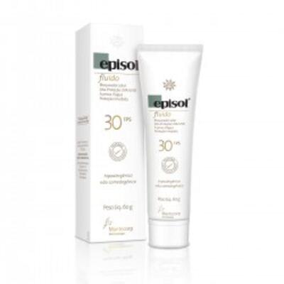 Imagem 1 do produto Protetor Solar Episol FPS30 Fluído Mantecorp Skincare 60g