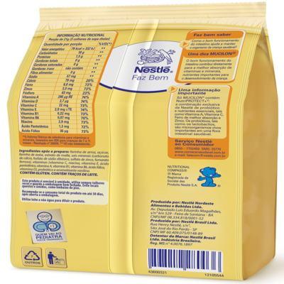 Imagem 2 do produto Cereal Infantil Nestlé Mucilon Arroz e Aveia 230g