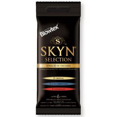 Imagem 1 do produto Preservativo Blowtex Skyn Selection 6 Unidades