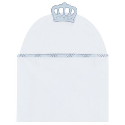 Toalha Max com capuz para bebe My Little Prince - Classic for Baby