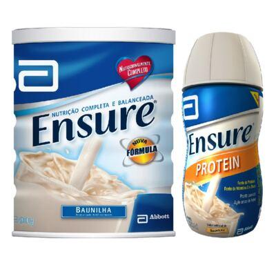 Imagem 1 do produto Complemento Alimentar Ensure Baunilha 900g + Protein Baunilha 220ml