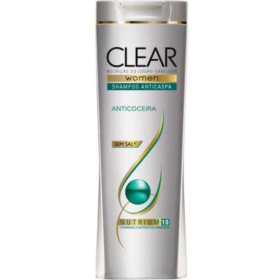 Shampoo Anticaspa Clear Women Alívio da Coceira 200ml
