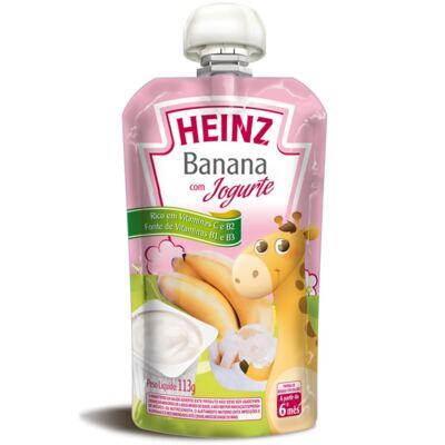 Papinha para bebe Banana com Iogurte (6m+)  - Heinz