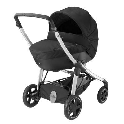 Imagem 4 do produto Travel System: Carrinho de bebê Elea Total Black + Moisés Windoo Plus Black Raven (0m+) - Bébé Confort