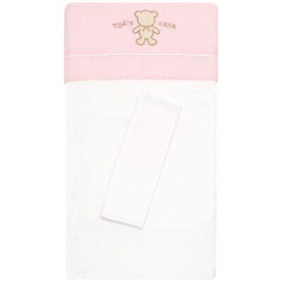 Imagem 1 do produto Colchão para carrinho em malha Pink Teddy Bear - Classic for Baby