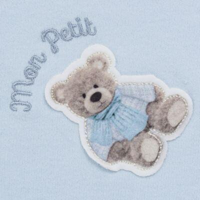 Imagem 3 do produto Jogo Maternidade com Macacão e Manta em algodão egípcio Chevalier - Petit