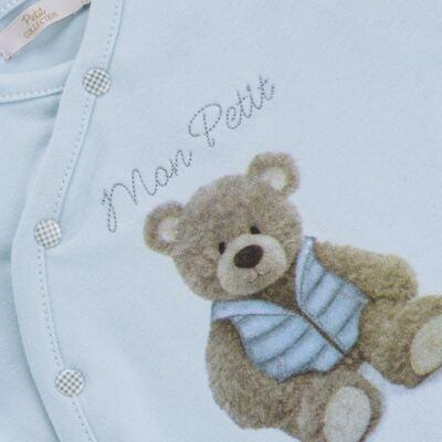 Imagem 5 do produto Jogo Maternidade com Macacão e Manta em algodão egípcio Chevalier - Petit