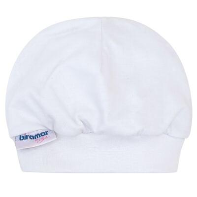 Imagem 1 do produto Touca para bebe Branco - Biramar Baby