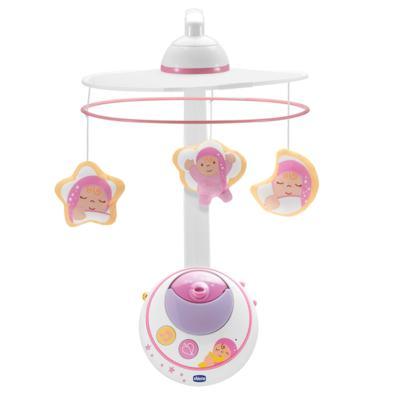 Imagem 1 do produto Móbile Magia das Estrelas Rosa (0m+) - Chicco