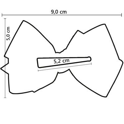 Imagem 3 do produto Presilha Laço duplo Roxo - Roana