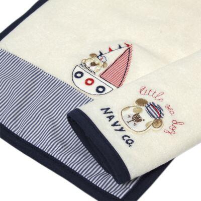 Imagem 4 do produto Kit com 2 fraldas de boca atoalhadas Sailor Dog - Classic for Baby