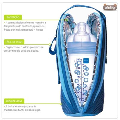 Imagem 2 do produto Bolsa Térmica Thermal Bag Cereja - MAM