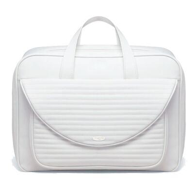 Imagem 1 do produto Mala maternidade para bebe Golden Branca - Classic for Baby Bags
