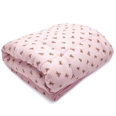 Edredom para berço em algodão egípcio c/ jato de cerâmica e filtro solar fps 50 Teddy Sammy - Classic for Baby