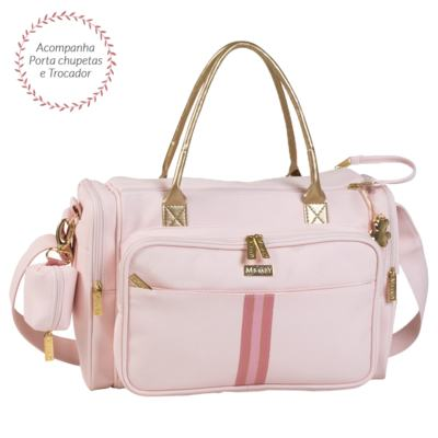 Imagem 1 do produto Bolsa para bebe Anne Sweet Rosa - Masterbag