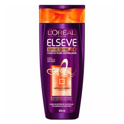 Imagem 2 do produto L'Oréal Paris Elseve Supreme Control Kit - Shampoo + Leave-In + Ganhe Condicionador - Kit
