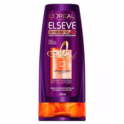 Imagem 5 do produto L'Oréal Paris Elseve Supreme Control 4D Kit - Shampoo + Leave-In + Ganhe Condicionador - Kit