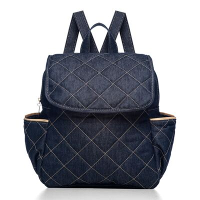 Mochila maternidade Classic Golden Denim - Classic for Baby Bags