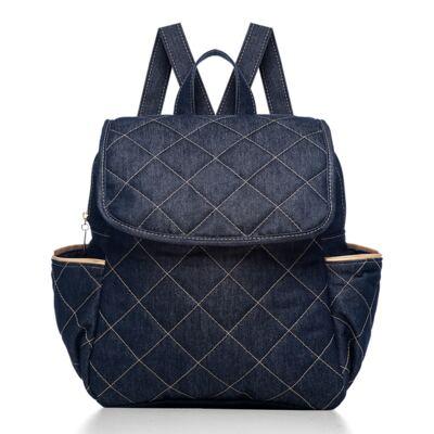 Imagem 1 do produto Mochila maternidade Classic Golden Denim - Classic for Baby Bags
