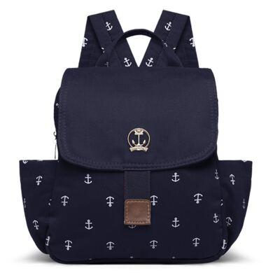 Imagem 1 do produto Mochila maternidade Venice em sarja Navy Marinho - Classic for Baby Bags