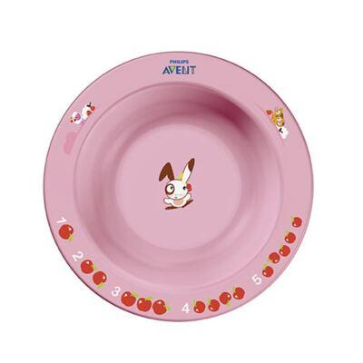 Imagem 1 do produto Tigela Infantil Pequena Rosa (6m+) - Philips Avent