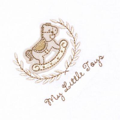 Imagem 2 do produto Manta para bebe forrada em malha Little Toys - Classic for Baby