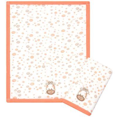 Kit com 2 fraldas de boca atoalhadas Girafinha - Classic for Baby