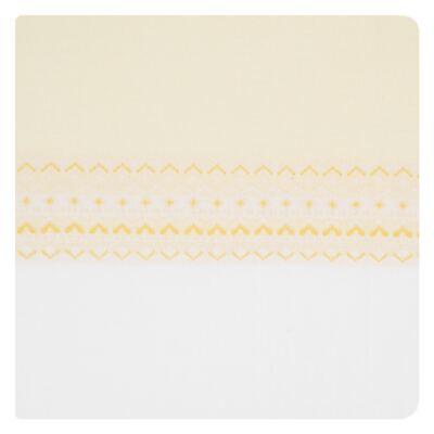 Imagem 1 do produto Manta para bebê em tricot jacquard Jaune - Petit