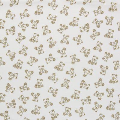 Imagem 2 do produto Manta para bebe em suedine Ivory Bear - Dedeka
