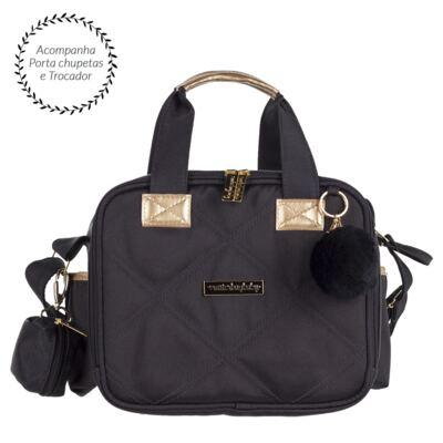 Bolsa térmica organizadora para bebe  Soho Black - Masterbag