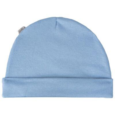 Imagem 2 do produto Kit c/ Touca, Luva e Sapatinho para bebe em malha Azul - Pingo Lelê