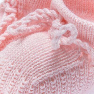 Imagem 2 do produto Botinha em tricot Rosa - Roana