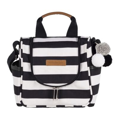 Frasqueira Térmica para bebe Emy Brooklyn Black and White - Masterbag