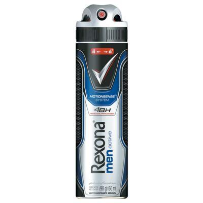 Imagem 1 do produto Desodorante Aerosol Rexona AP Active 150ml