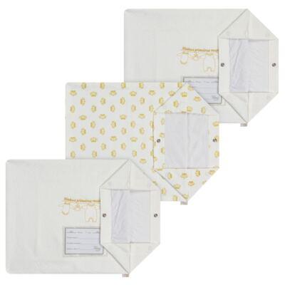 Kit 3 Saquinhos para maternidade Minhas Primeiras Roupinhas Queen - Anjos Baby