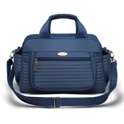 Imagem 1 do produto Bolsa maternidade para bebe Sevilha Golden Marinho - Classic for Baby Bags