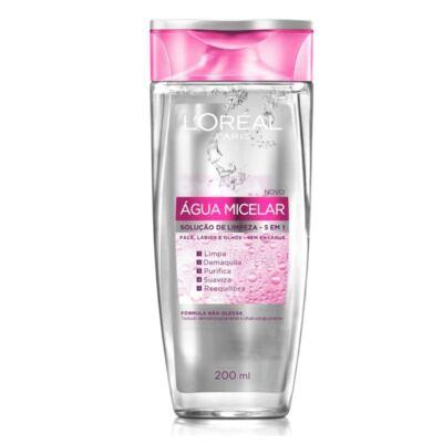 Imagem 2 do produto Kit L'oréal Tônico De Limpeza Facial 5 Em 1 água Micelar 200ml + Base Bb Cream 5 Em 1 Escura Fps 20 50ml