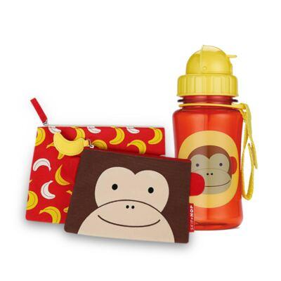 Estojo para bebe + Garrafinha Zoo Macaco - Skip Hop