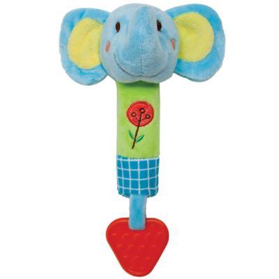 Imagem 1 do produto Buzina & Mordedor Safari Elefantinho (3m+) - Buba