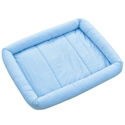 Imagem 1 do produto Colchonete para bebe Xadrez Azul - Biramar Baby