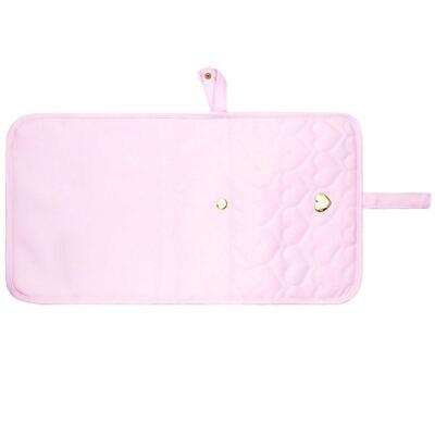 Imagem 3 do produto Trocador Portátil para bebe Corações Matelassê Rosa - Classic for Baby Bags