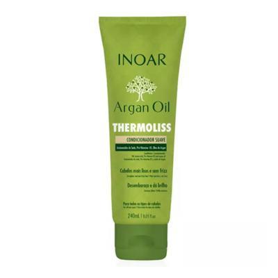 Imagem 2 do produto Kit Shampoo + Condicionador + Balsamo Inoar Argan Oil Thermoliss - Kit
